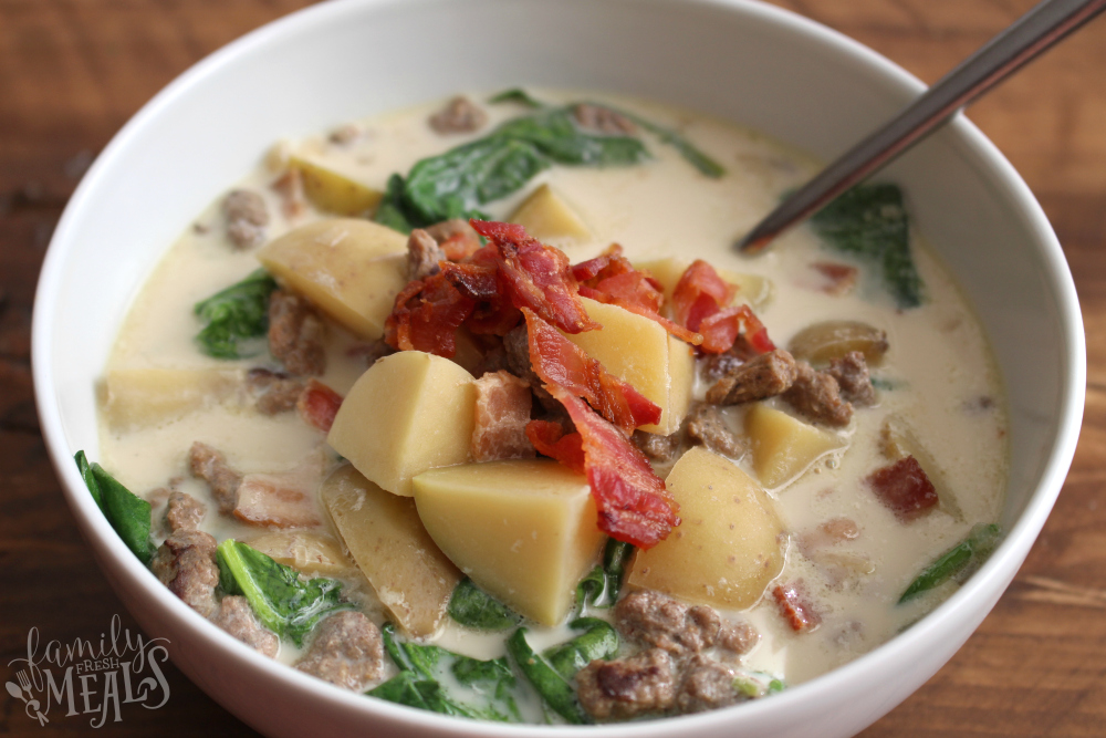 Crockpot Zuppa Toscana Soup - Step 6