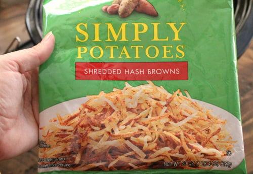 Loaded Crockpot Hash Brown Potato Soup - Step 1