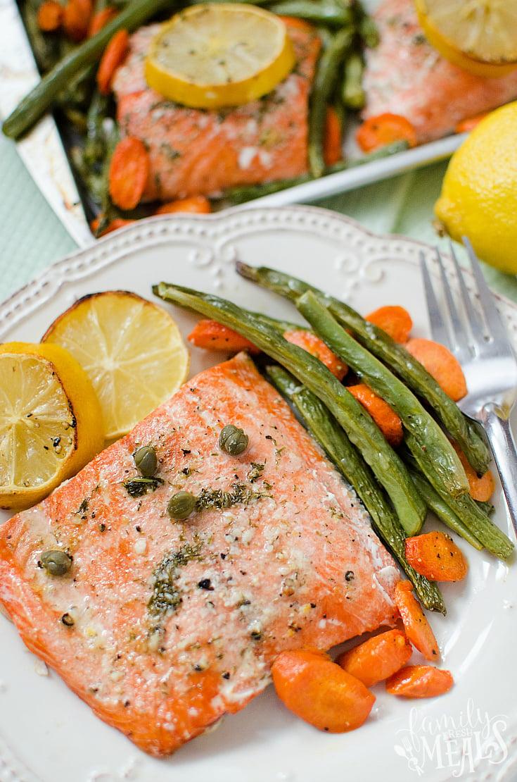 Salmon Sheet Pan Dinner Family Fresh Meals