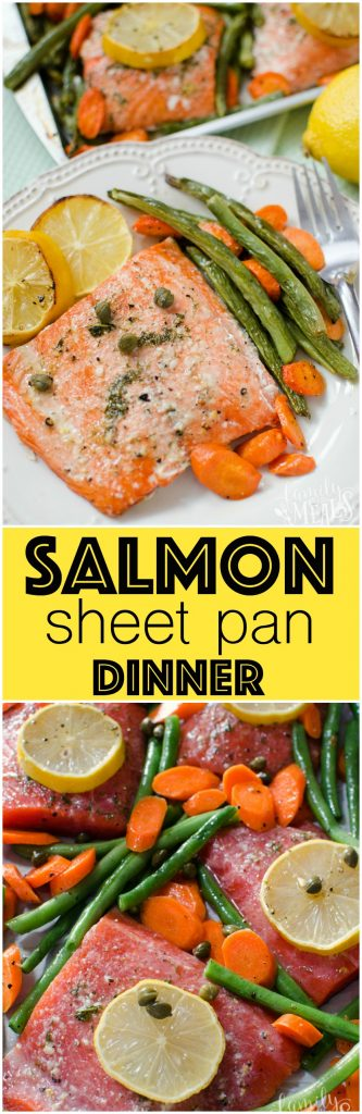 Salmon Sheet Pan Dinner - Family Fresh Meals Recipe