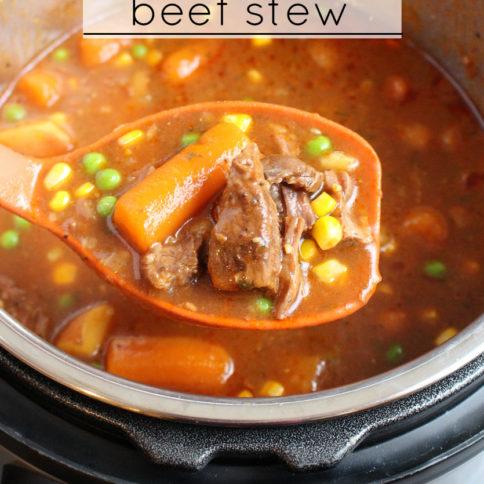The Best Instant Pot Beef Stew - Best stew Recipe around!