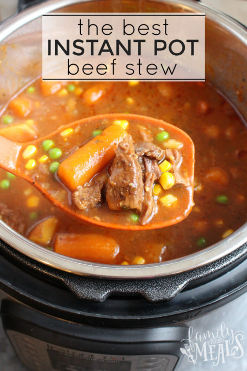 The Best Instant Pot Beef Stew - Best stew Recipe around!