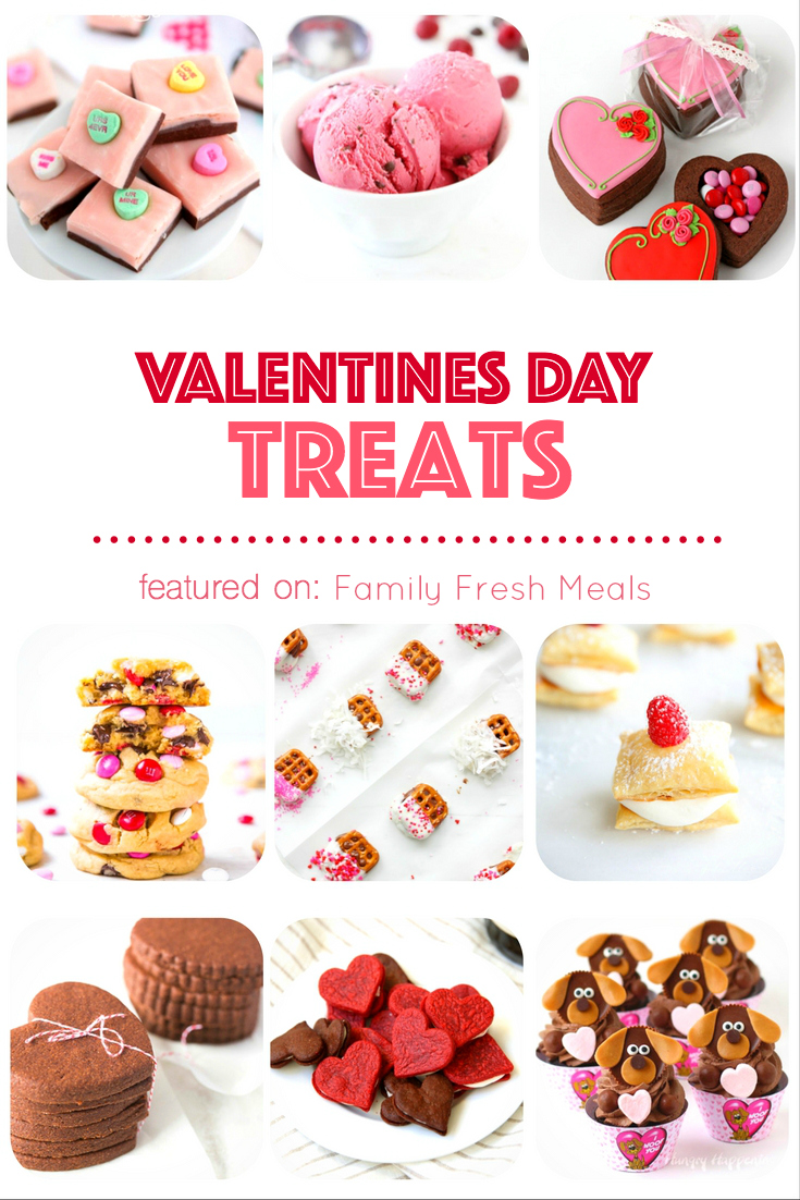 Valentines day treats family fresh meals for Valentines dinner for kids