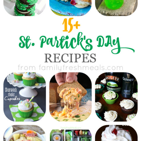 Over 15 St Patricks Day Recipe - FamilyFreshMeals.com