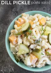 Dill Pickle Pasta Salad Recipe