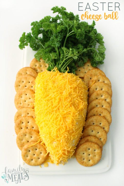 Easter Cheese Ball -- Family Fresh Meals