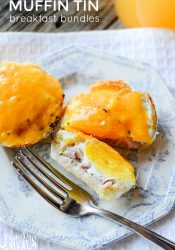 Easy Muffin Tin Breakfast Bundles