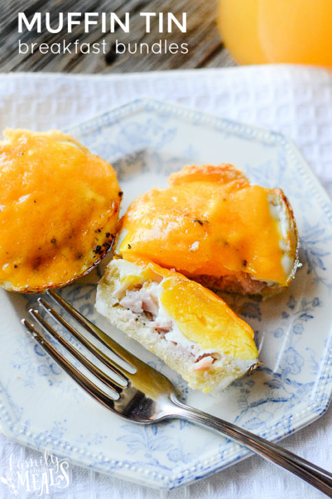 Easy Muffin Tin Breakfast Bundles - Family Fresh Meals