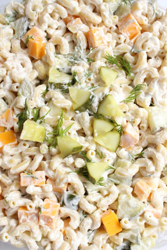 Family Fresh Meals - Dill Pickle Pasta Salad