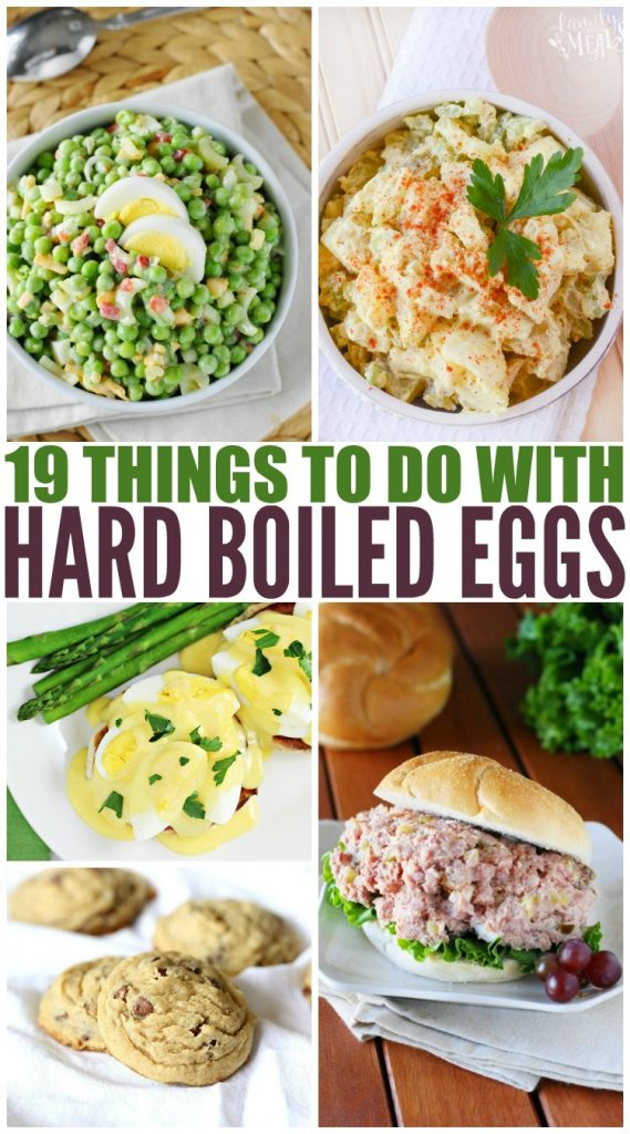 Things to do with hard boiled eggs - Family Fresh Meals
