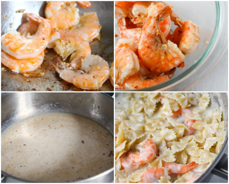 Lemon Parmesan Shrimp - Steps
