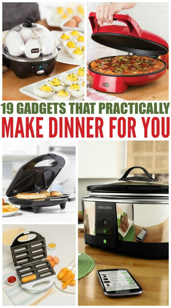 Kitchen Gadgets That Practically Make Dinner For You