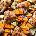 Roasted Chicken Sheet Pan Dinner