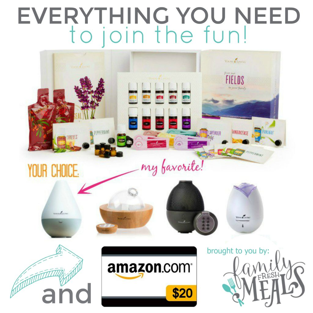 Young Living Starter Kit - Family Fresh Meals