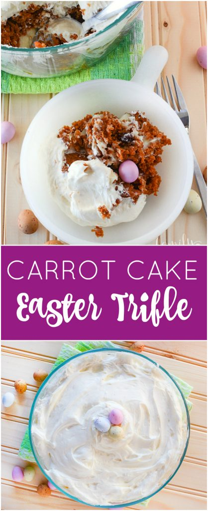 Carrot Cake Easter Trifle Recipe Family Fresh Meals
