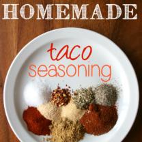 DIY Homemade Taco Seasoning