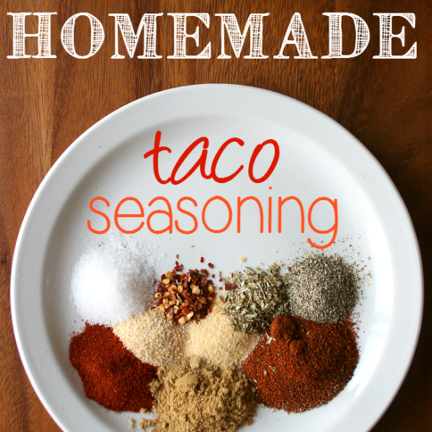 DIY Homemade Taco Seasoning - 20 Different Tacos for Taco Tuesday