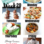 Easy Weekly Meal Plan Week 20