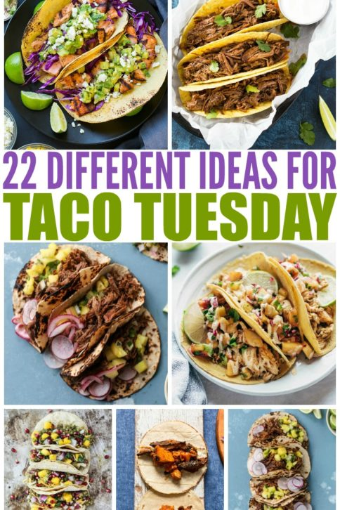 20 Deliciously Different Tacos