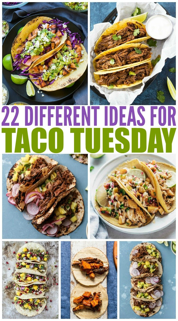 20 Deliciously Different Tacos #familyfreshmeals #tacos #newtacos #tacoideas #mexican #streettacos via @familyfresh