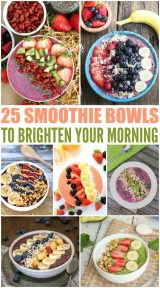 25 Smoothie Bowls To Brighten Your Morning