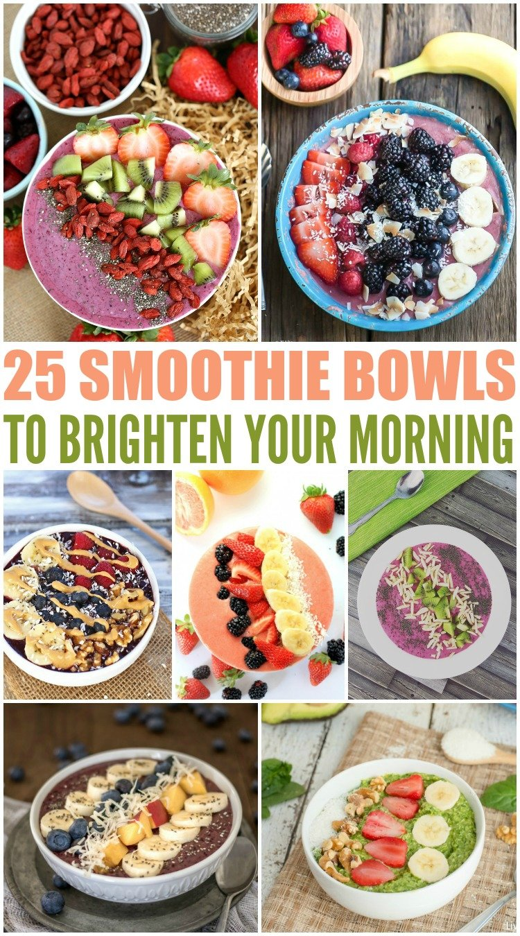 25 Smoothie Bowls To Brighten Your Morning Family Fresh Meals
