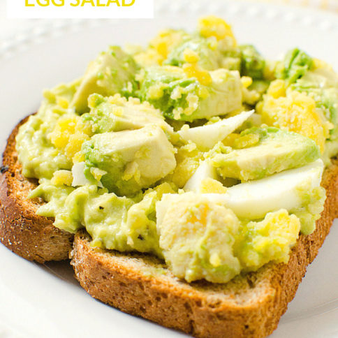Avocado Egg Salad Recipe YUM - Healthy Family Fresh Meals