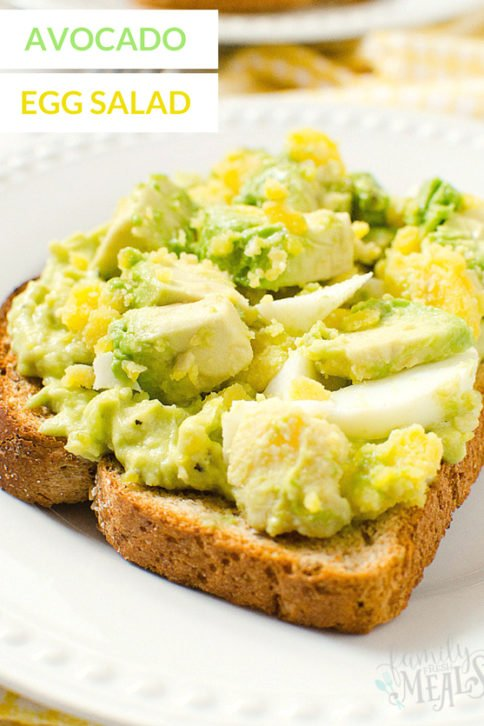 Avocado Egg Salad Recipe YUM - Healthy Family Fresh Meals