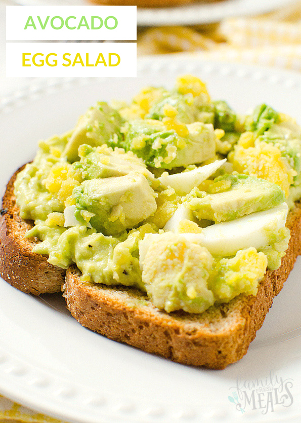Avocado Egg Salad Recipe - Healthy Family Fresh Meals