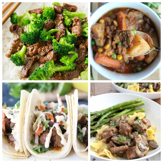Easy Beef Crockpot Recipes - Family Fresh Meals Slow Cooker Beef recipes