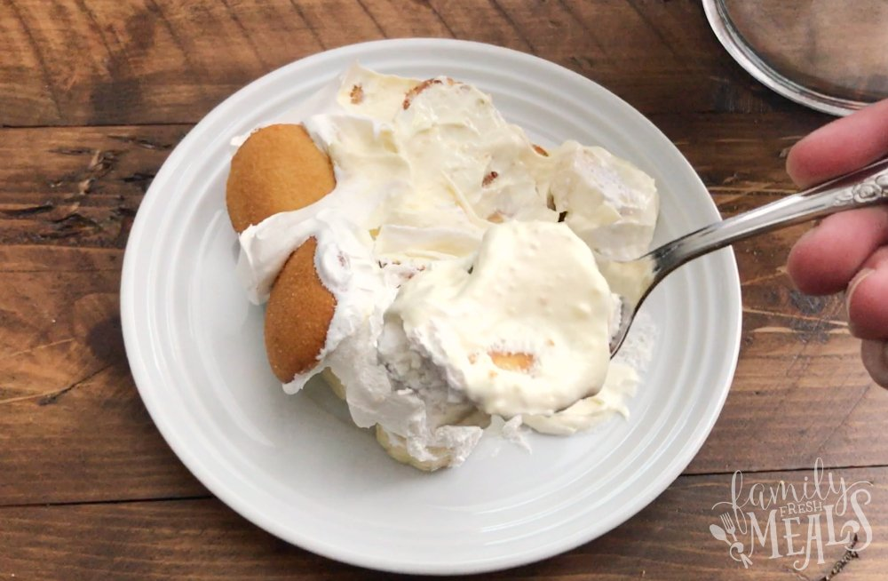Blue Ribbon Banana Pudding - Yummy Family Fresh Meals Recipe