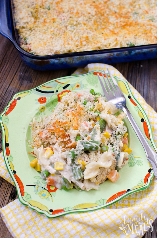 Chicken Noodle Casserole Family Fresh Meals