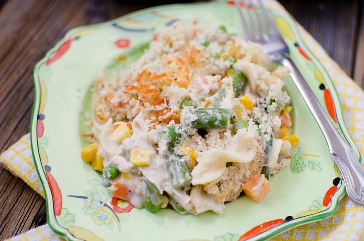 Chicken Noodle Casserole - Yummy Recipe