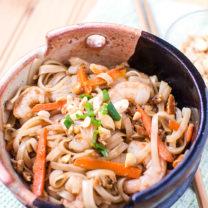 Easy Shrimp Pad Thai Recipe