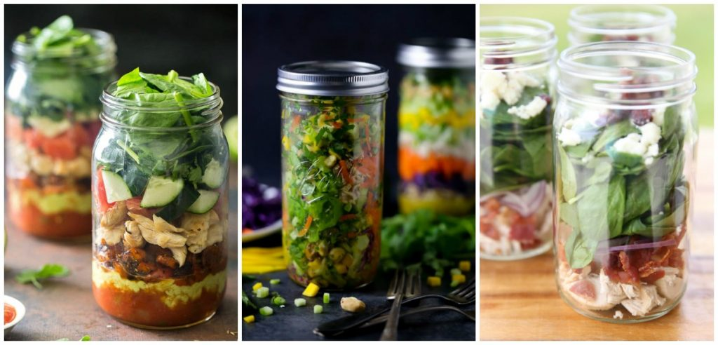 20 Summer Salads In A Jar Ideas