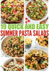 19 Delicious and Easy Pasta Salads