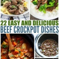 Easy Beef Crockpot Recipes