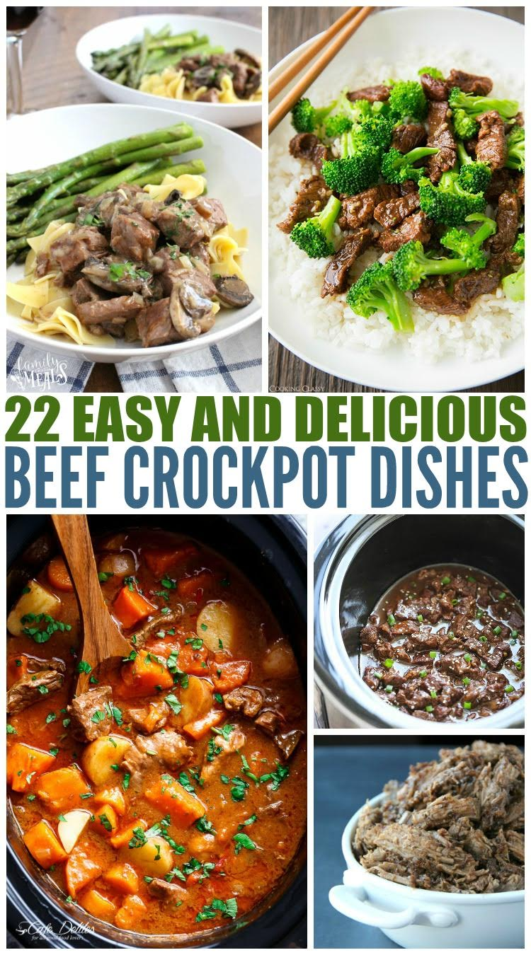 Easy Beef Crockpot Recipes Family Fresh Meals