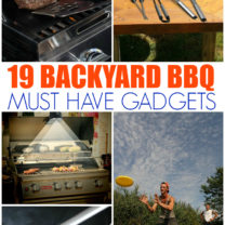 Backyard BBQ Must Have Gadgets