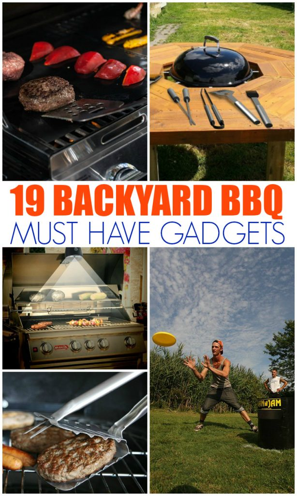 Backyard BBQ Must Have Gadgets - Family Fresh Meals
