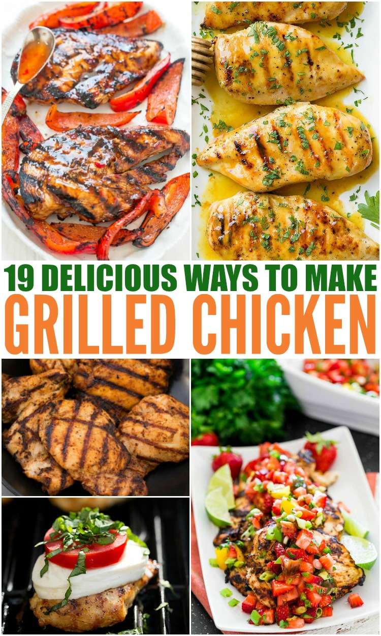 Delicious Grilled Chicken Recipes #grilled #chicken #grilledchicken #familyfreshmeals #healthy #easyrecipe #dinner #summerrecipe via @familyfresh