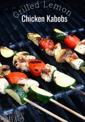Lemon Grilled Chicken Kabobs