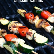 Lemon Grilled Chicken Kabobs