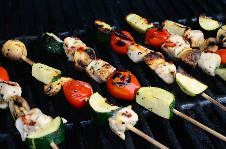 Grilled Lemon Chicken Kabobs - Step 5