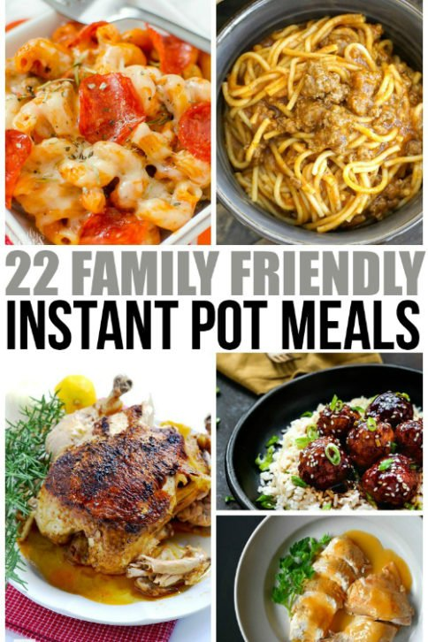 Family Friendly Instant Pot Meals - Family Fresh Meals