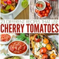 Recipes for Cherry Tomatoes