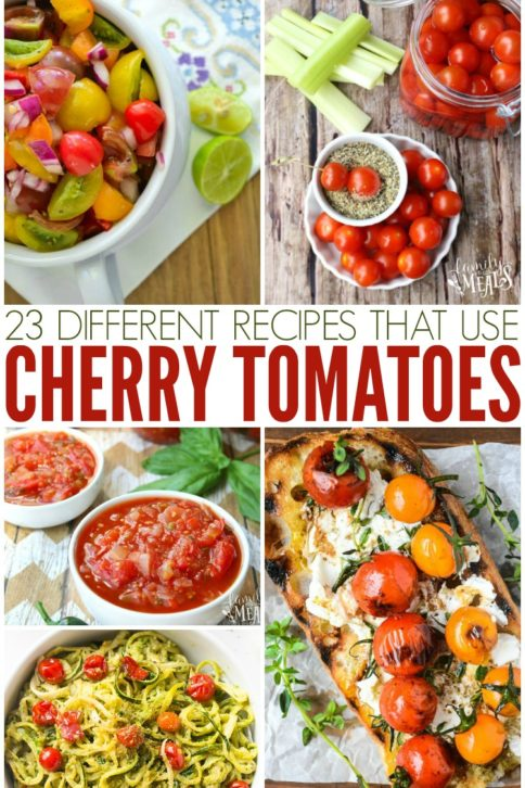 Recipes for Cherry Tomatoes - Family Fresh Meals
