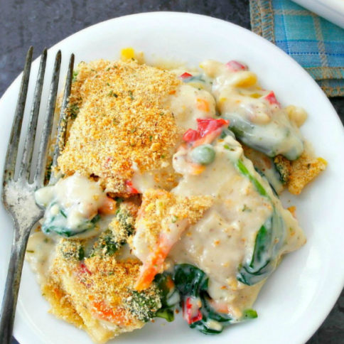 Creamy Ravioli Bake Recipe - Family Fresh Meals