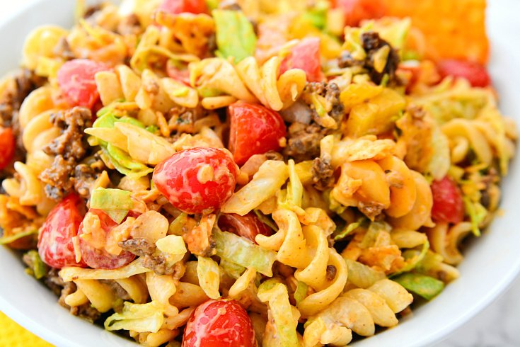 Easy Taco Pasta Salad - Step 2