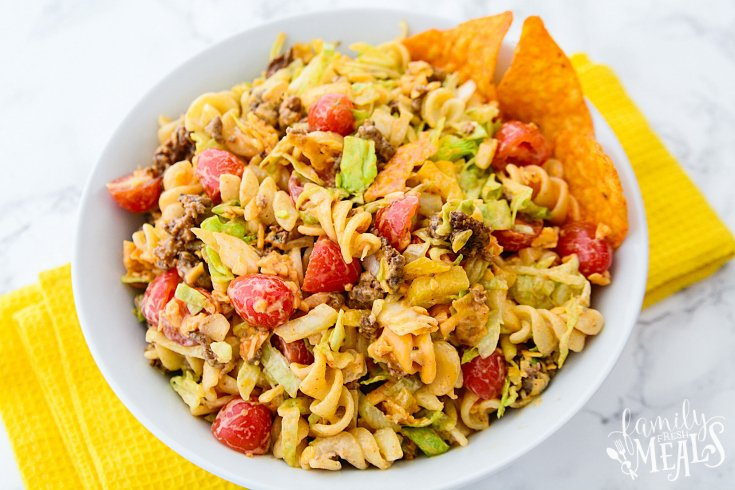 Easy Taco Pasta Salad - Step 3